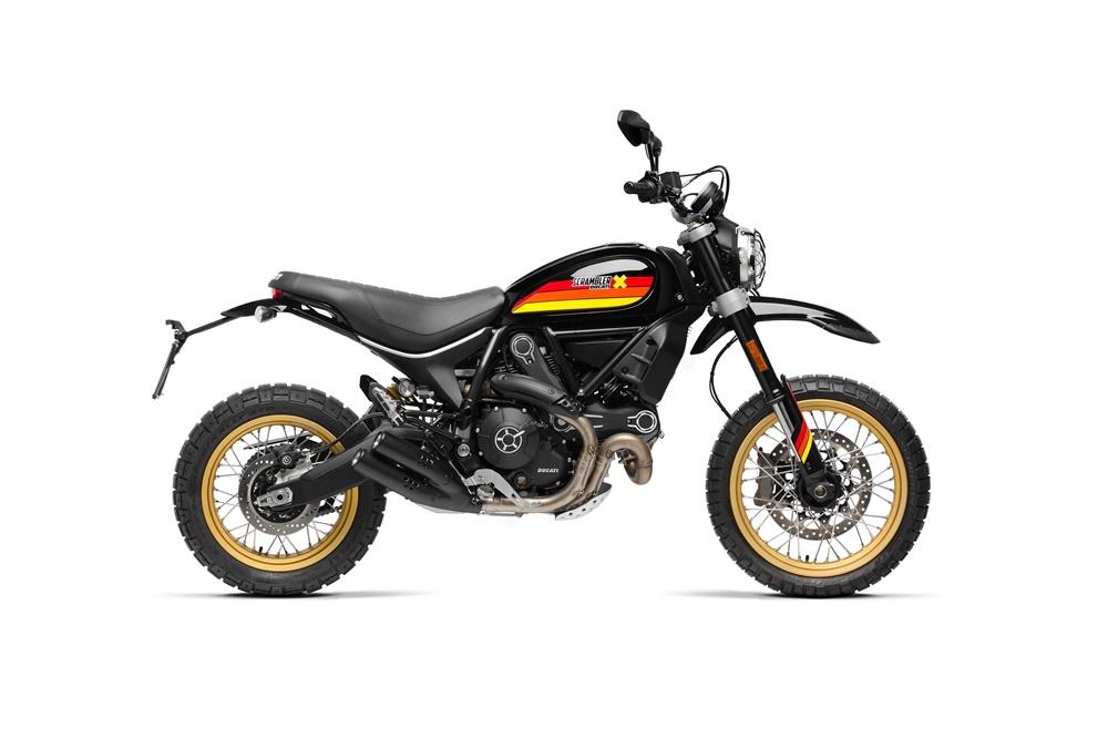 EICMA 2017: мотоцикл Ducati Scrambler Desert Sled Special 2018