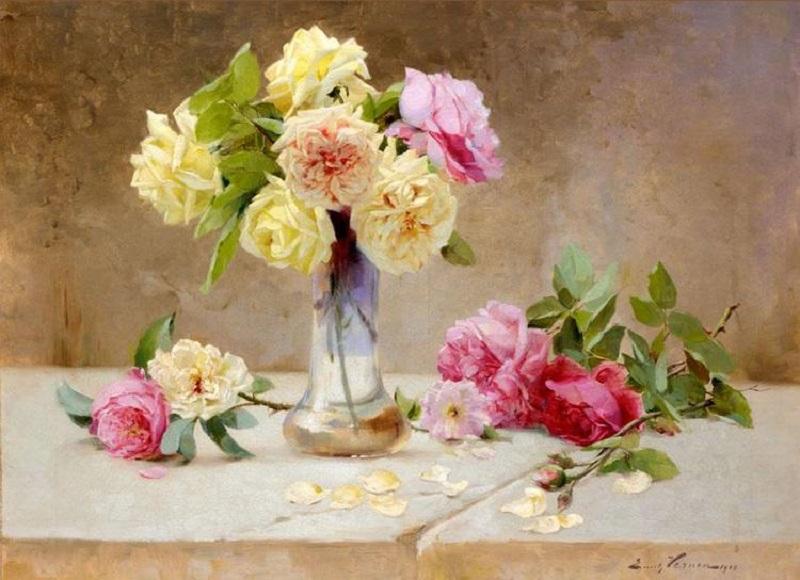 Still life of roses , 1902