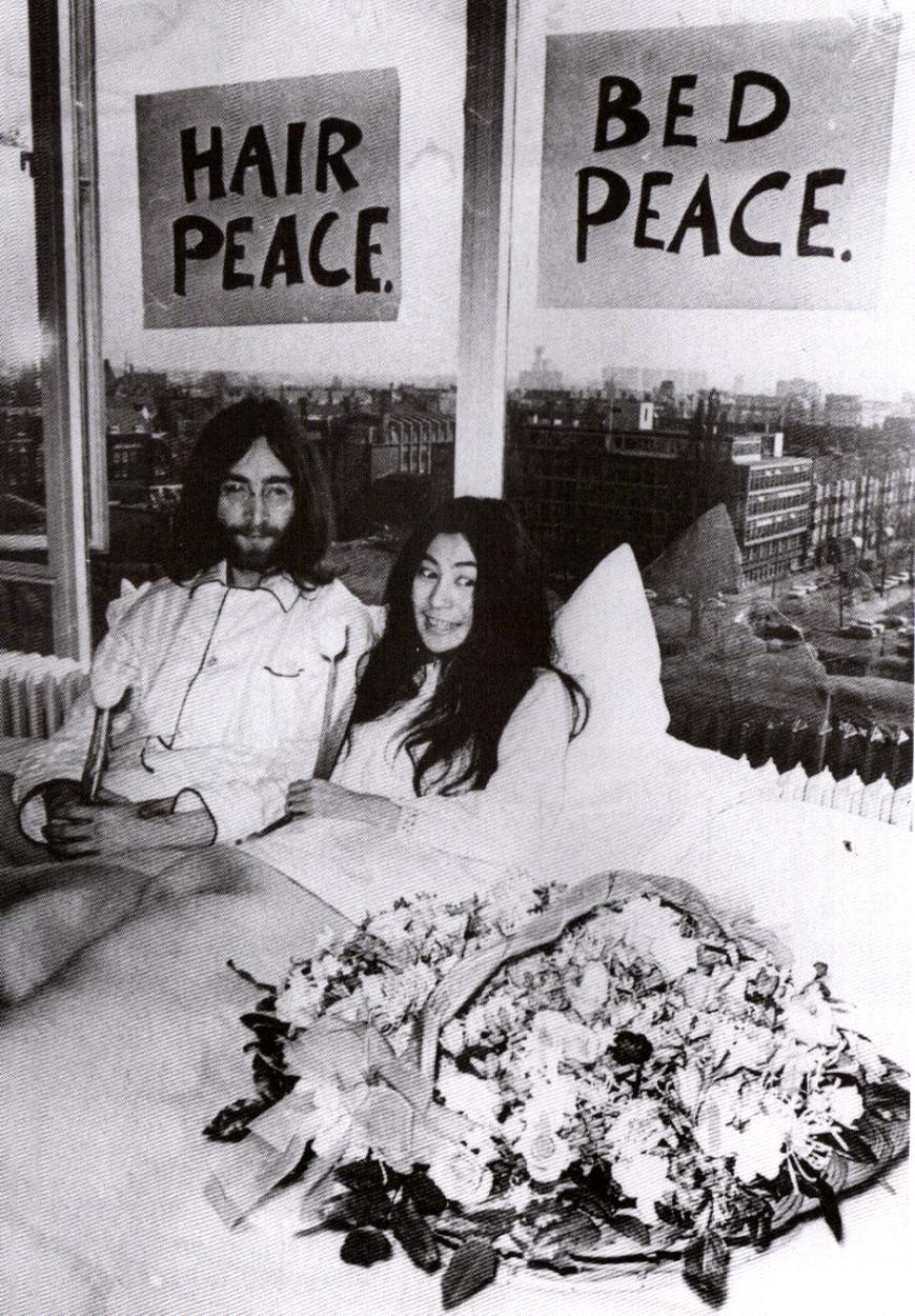1969. Джон & Йоко