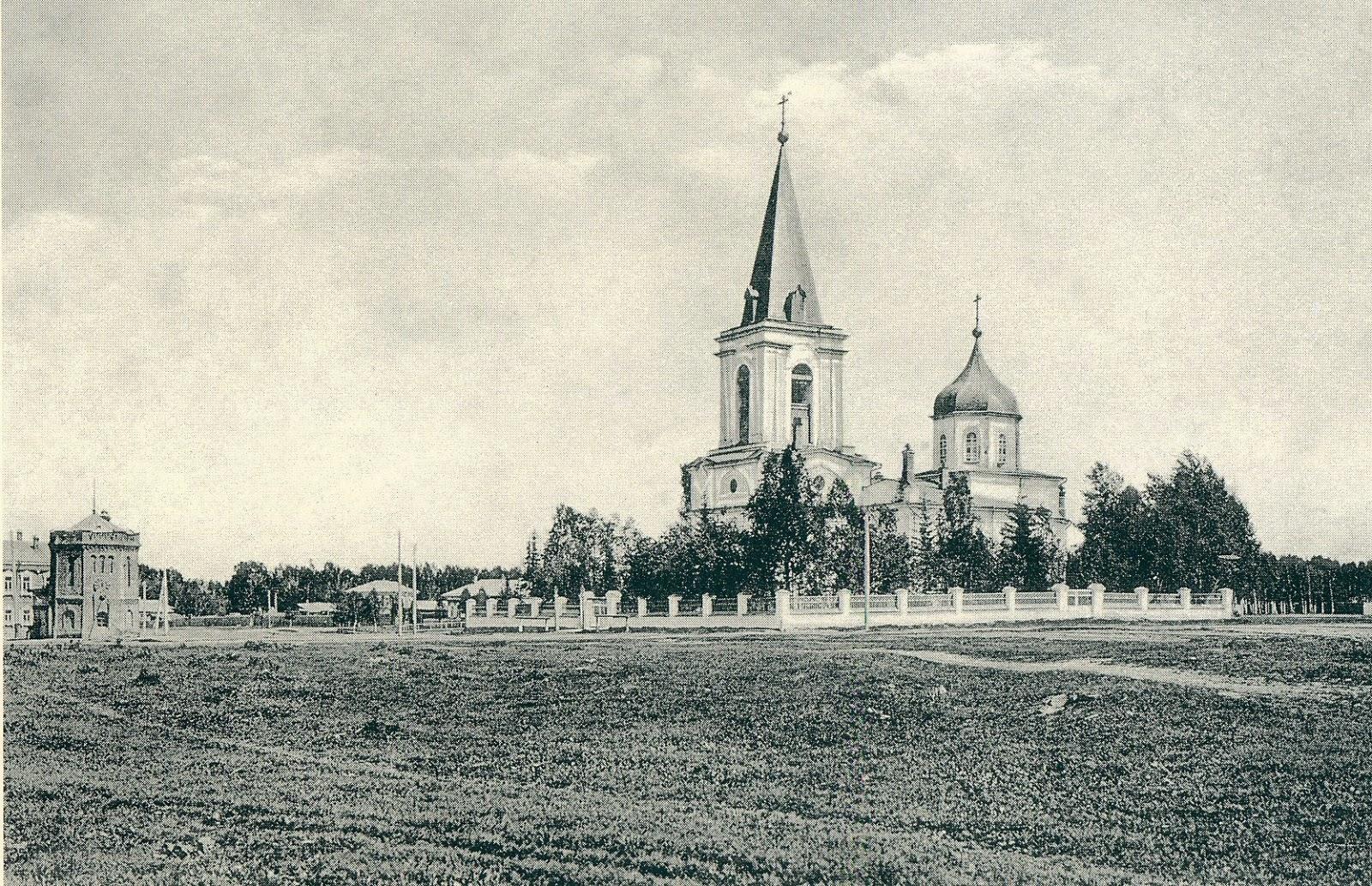 Преображенская церковь (Ерлыковская) на Верхней Елани
