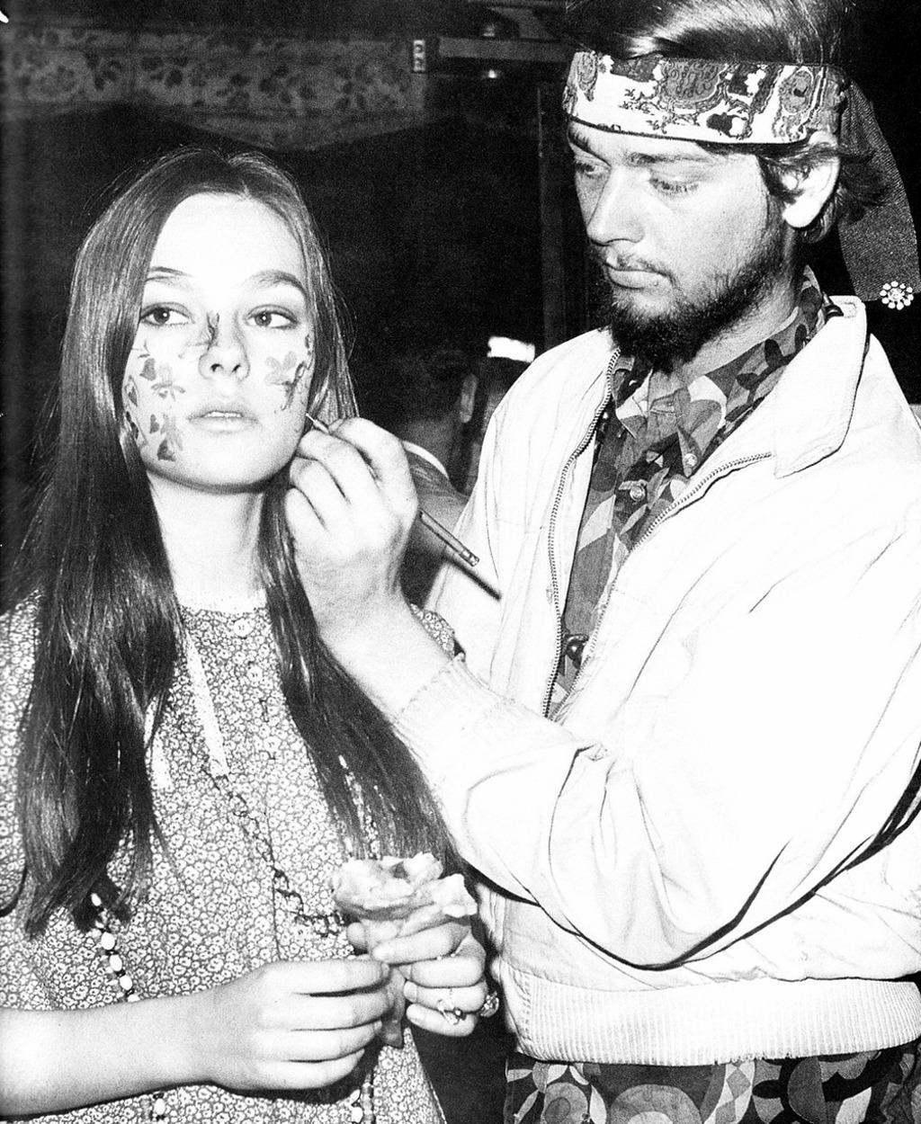 1967. Боди-арт