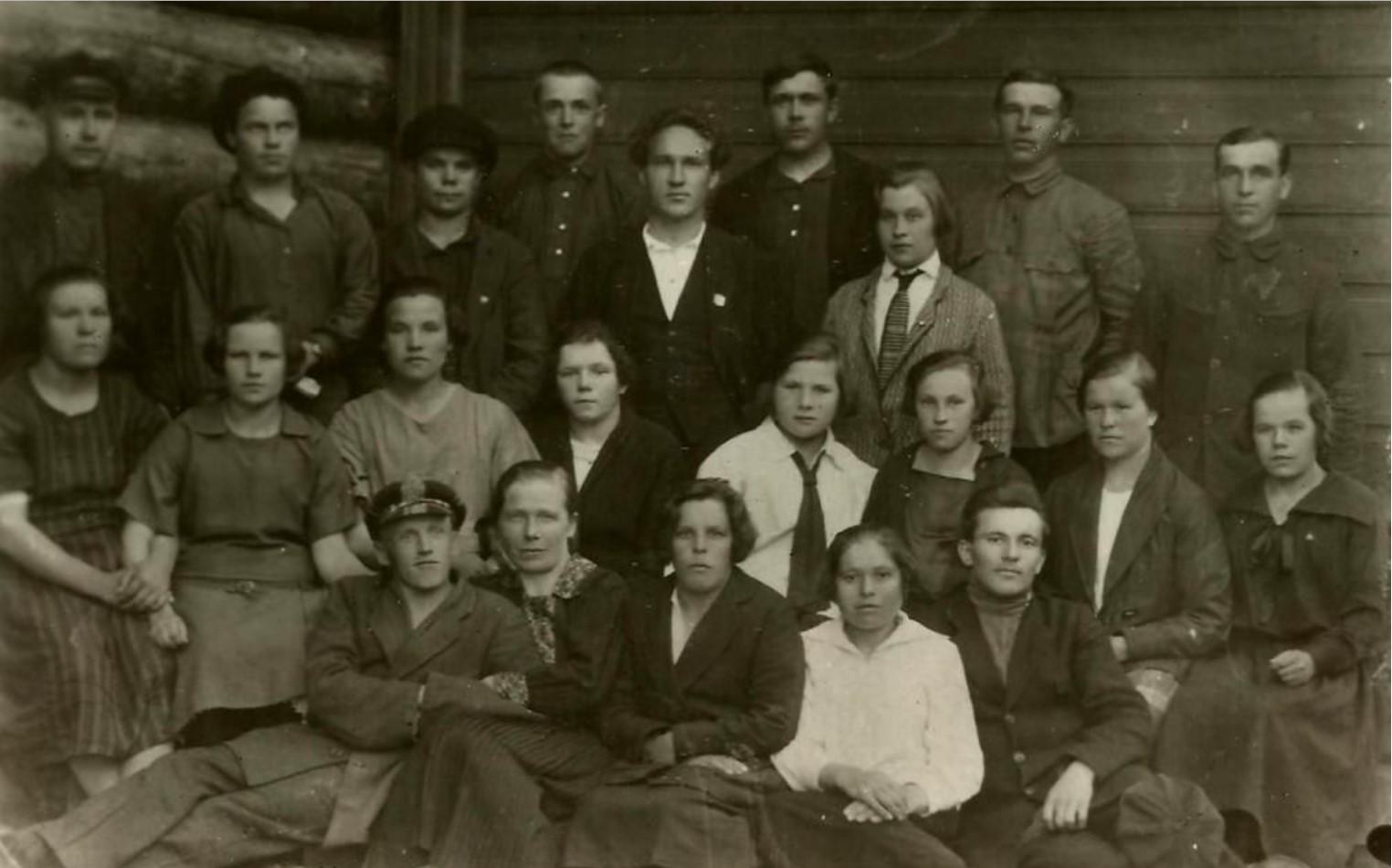 1928. Уездные курсы деревенского партактива