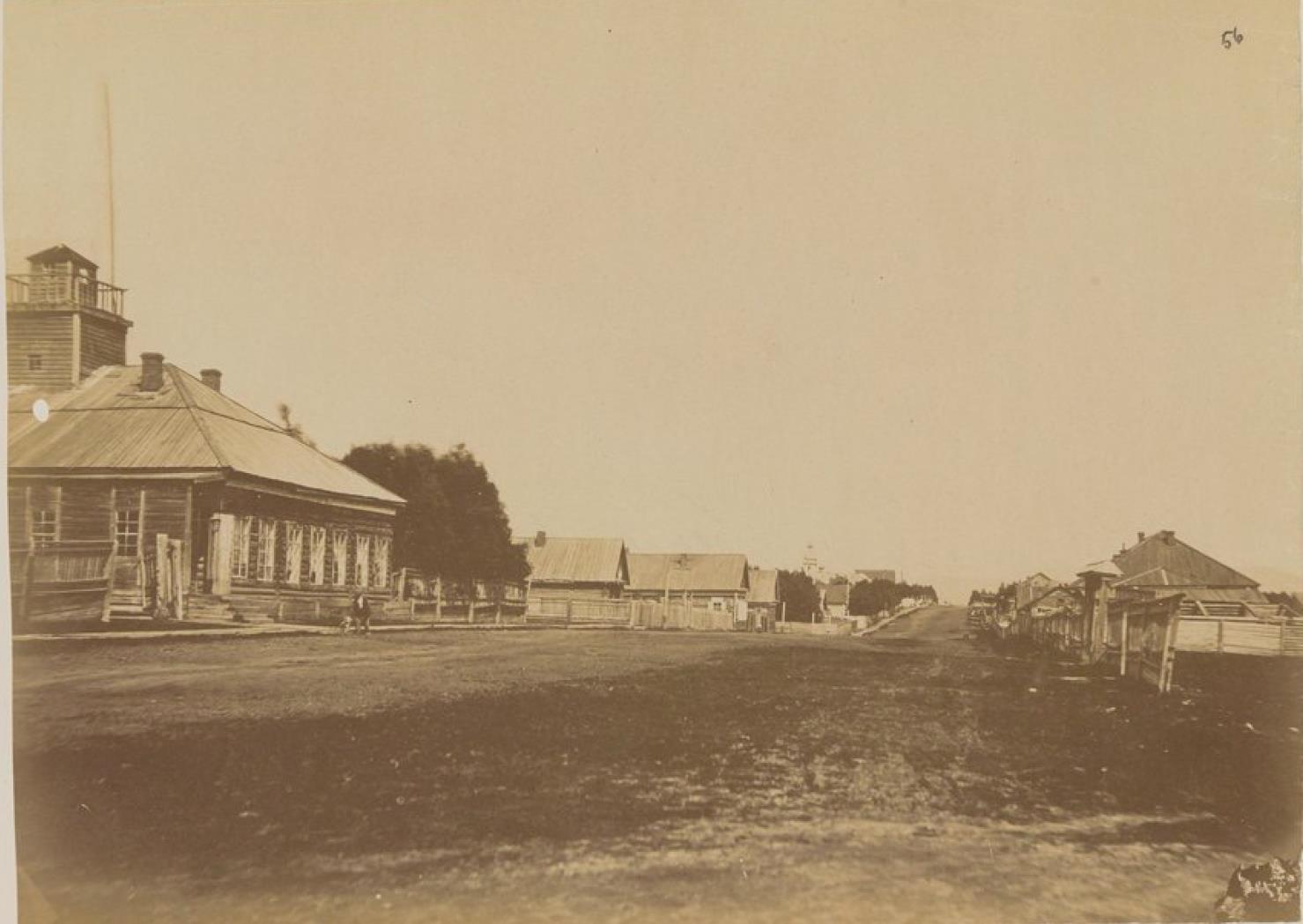 Николаевск-на-Амуре в 1876 году