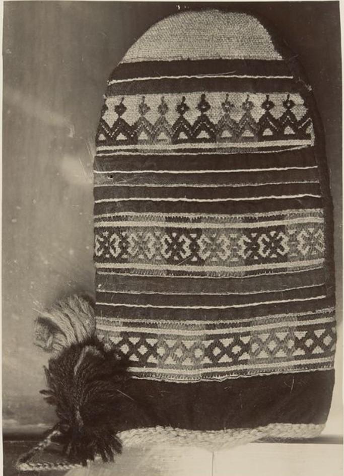 Образцы материальной культуры хантов из Тобольского музея. Варежка