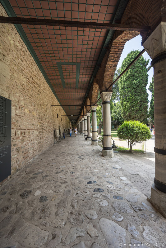 Дворец Топкапы в Стамбуле. Кухонный дворец Сарай Мутфаклары (Saray Mutfakları).