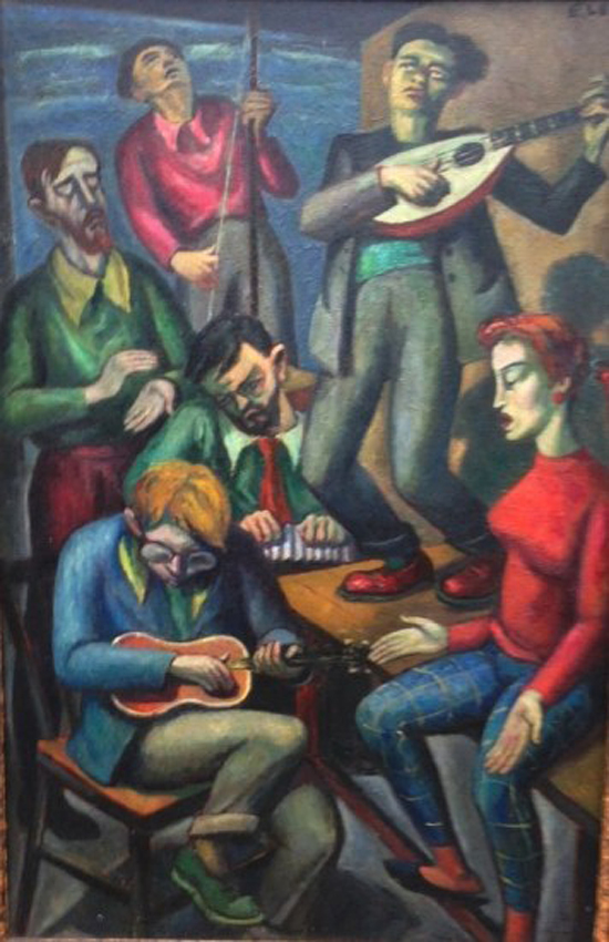 The Skiffle Group, Emmanuel Levy (1900-1986)