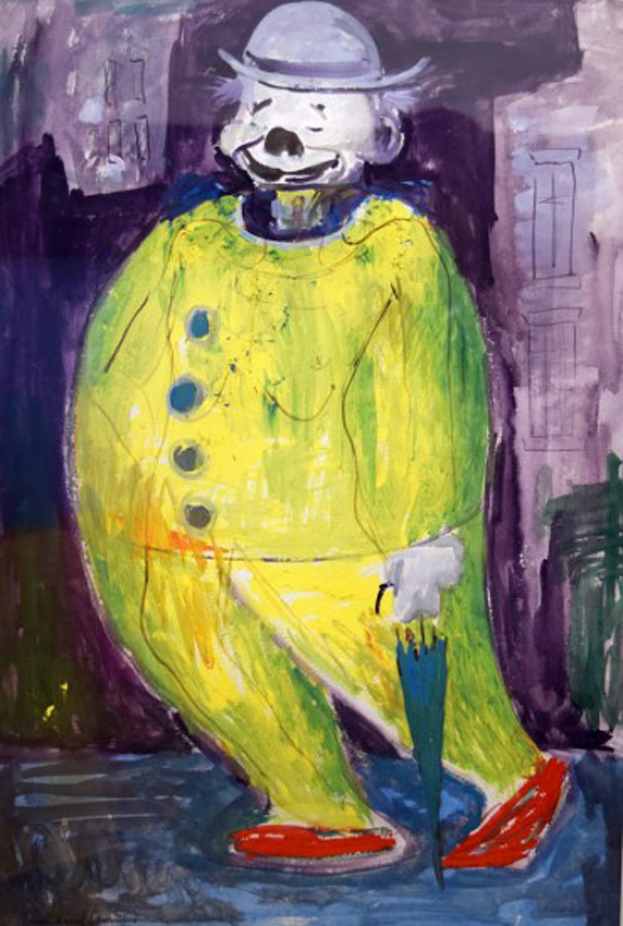Yellow Clown, Emmanuel Levy (1900 - 1986).