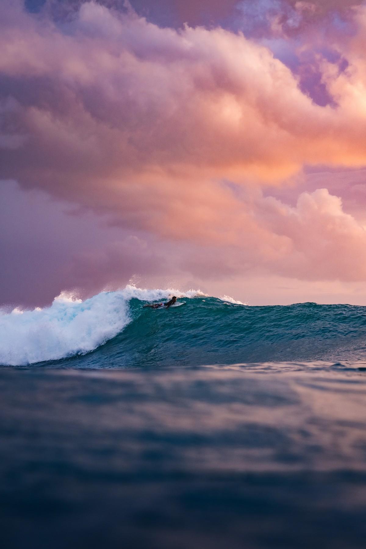 Солнце, волны и серфинг на снимках Калле Лундхольма