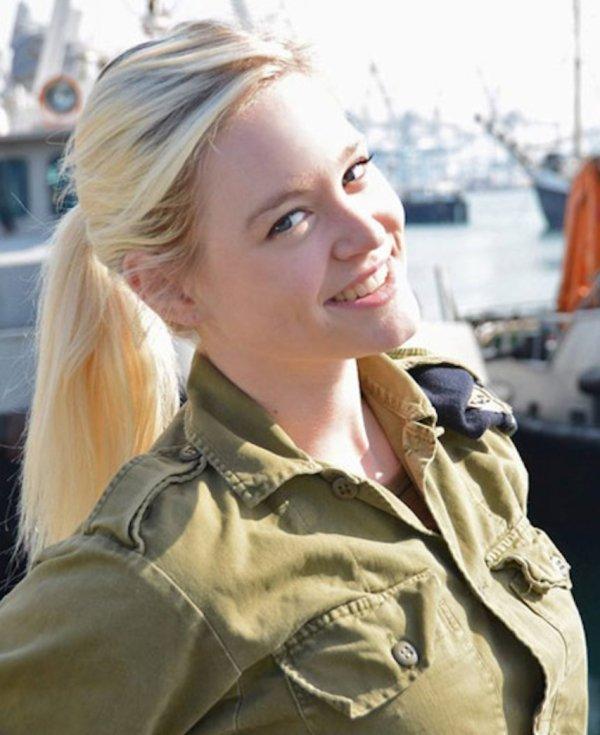 Симпатичные девушки из армии Израиля