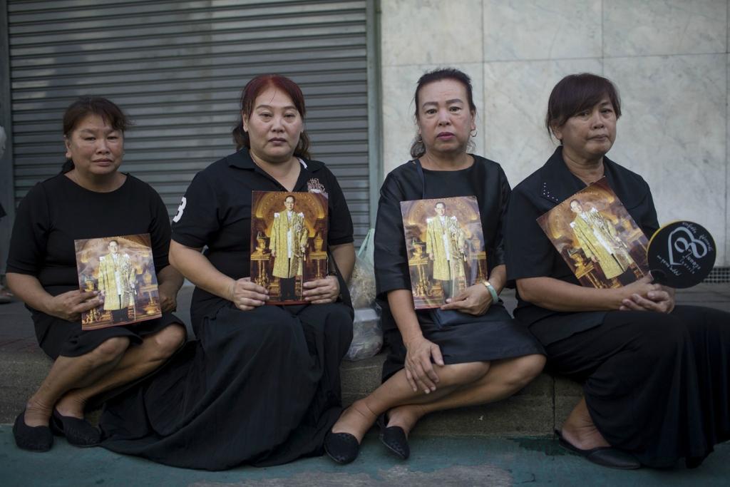 Похороны  короля Таиланда Пхумипона Адульядета