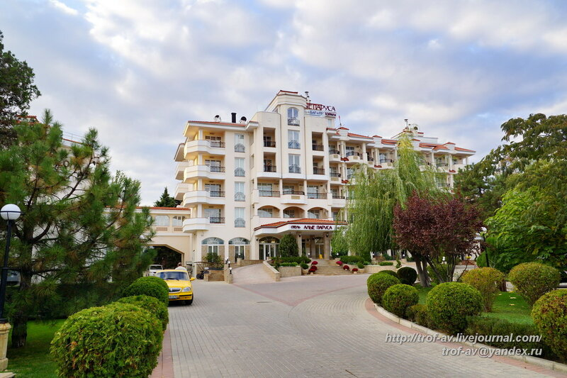 Отель Алые паруса, Феодосия