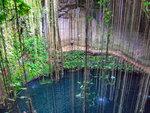 Подземное озеро. Мексика.