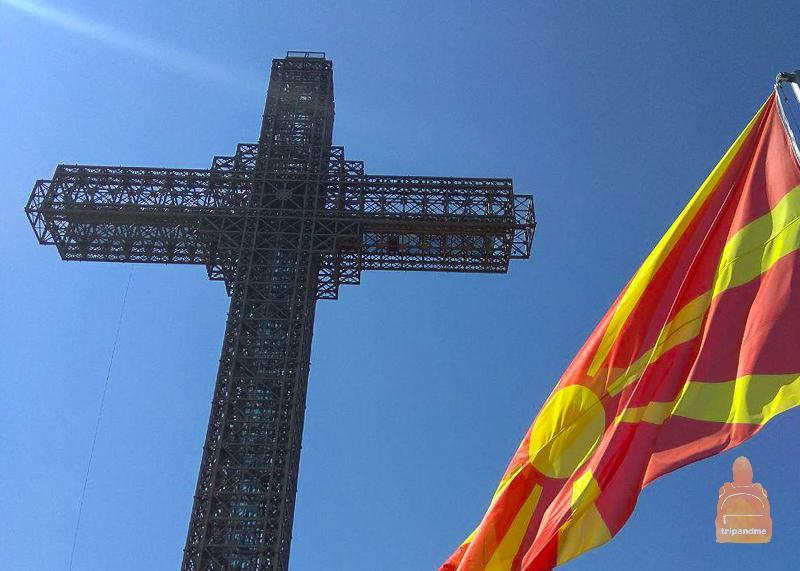 Второе название Креста Тысячелетия - Крест Миллениум