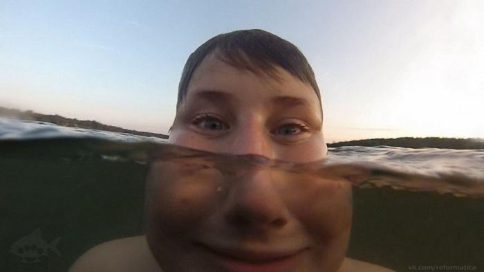 Селфи под водой (50 фото)