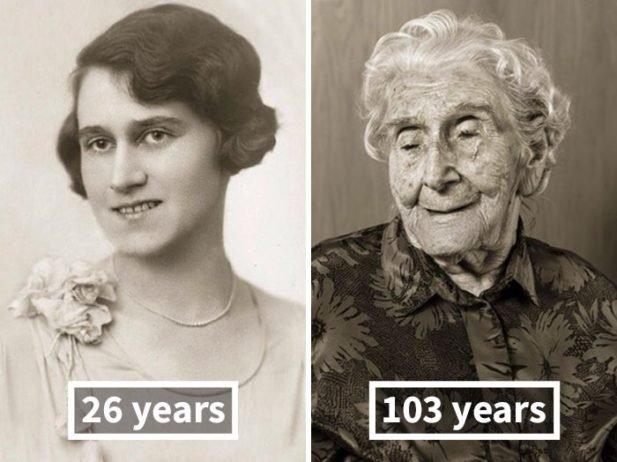 Анна Почобрадска, около 30 лет и 100 лет