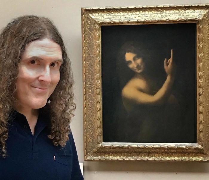 Двойники в музее: гуляешь себе и вдруг видишь свой портрет (22 фото)