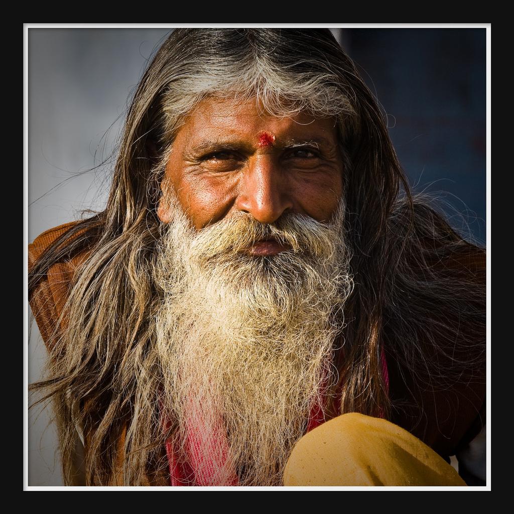 36. Индия — лица (Гуру Джанет).