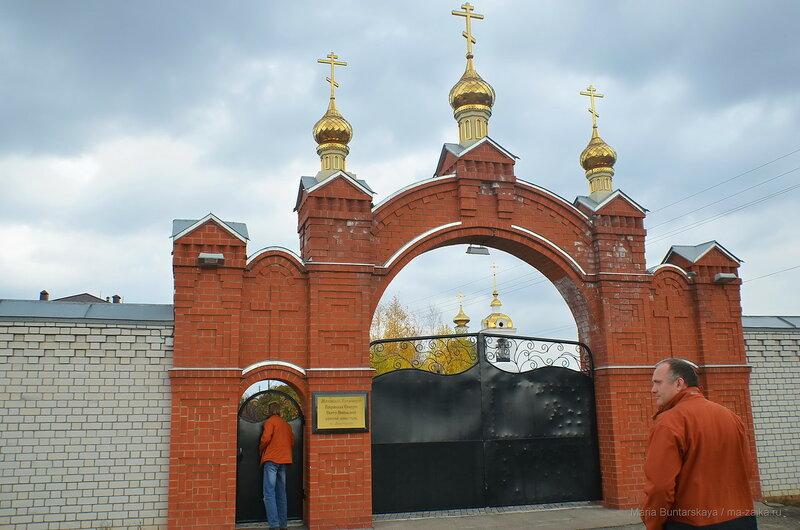 Свято-Никольский женский монастырь, 19 октября 2017 года