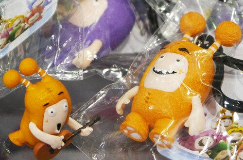 oddbods чудики игрушки