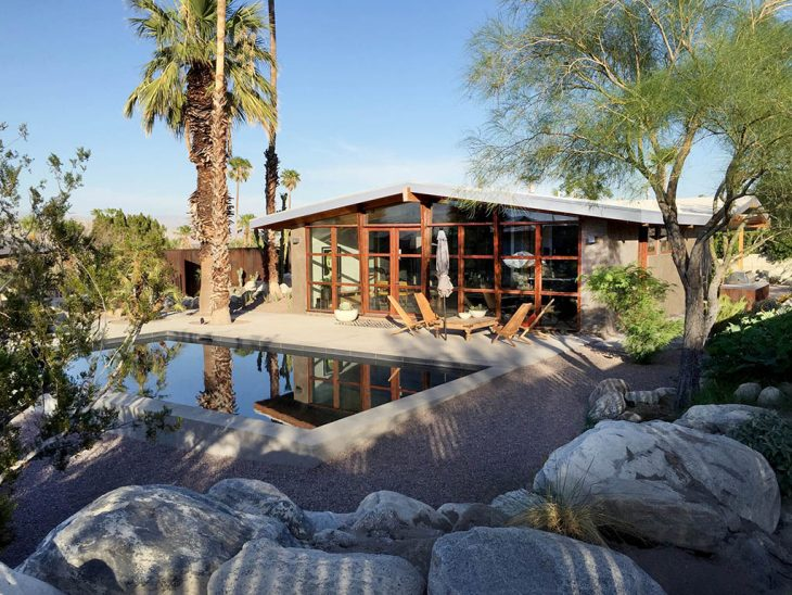 Chino Canyon House by Hundred Mile House