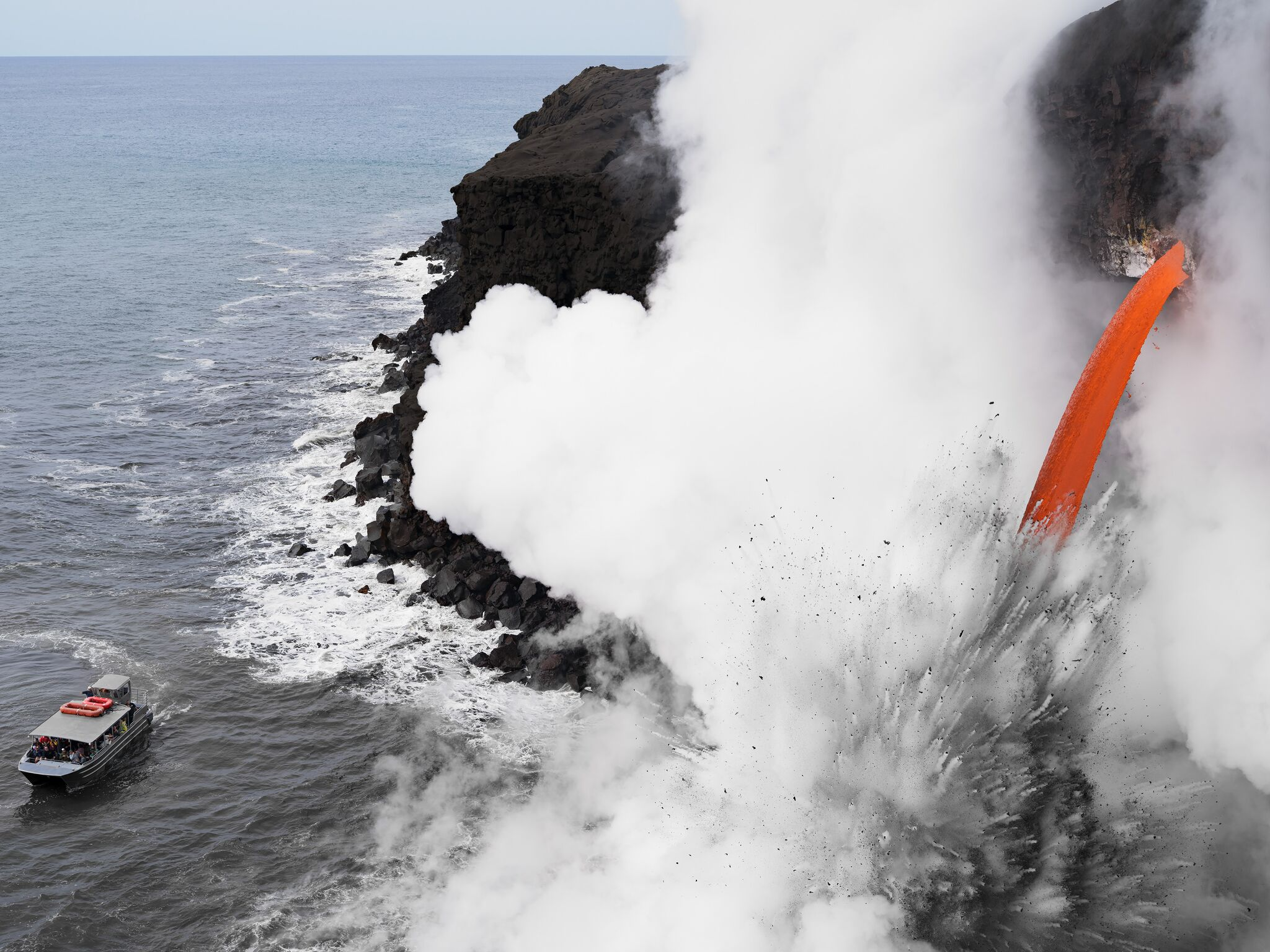 - Lava Boat Tour, Hawai'i © Lucas Foglia. Courtesy of Michael Hoppen Gallery