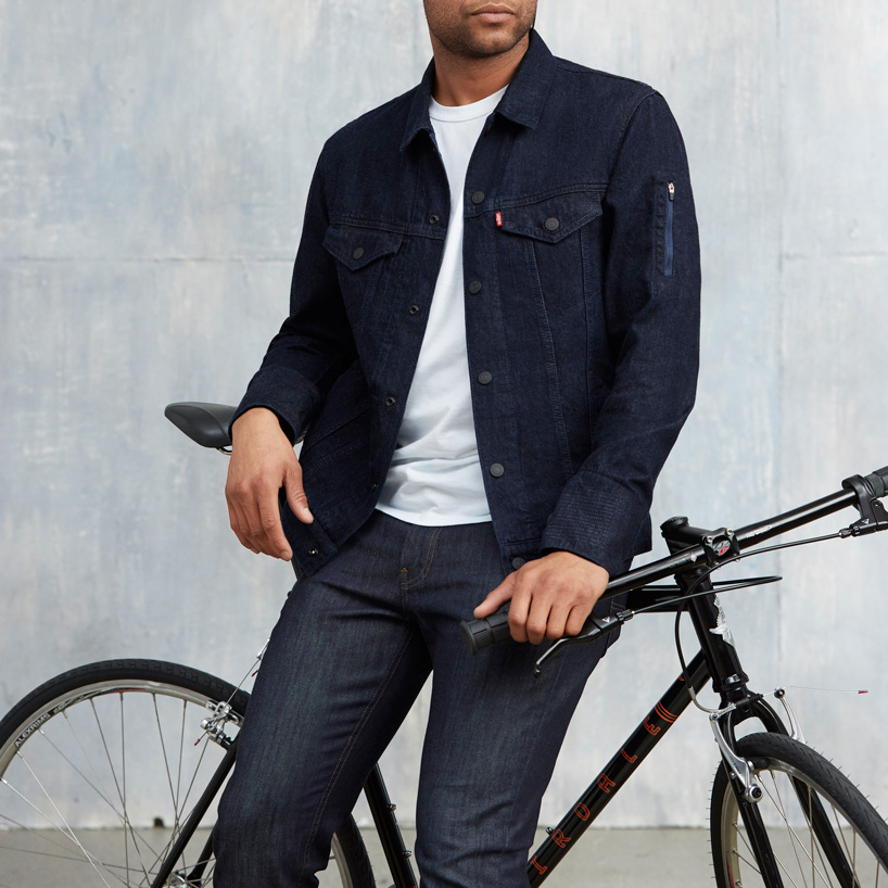 Levi's® commuter™ trucker jacket with jacquard™ by Google