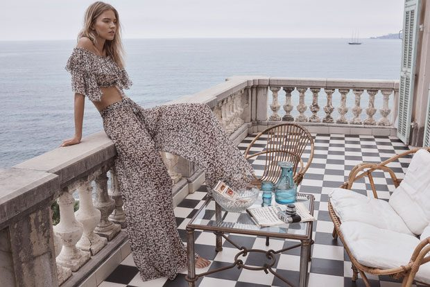 Sasha Luss Stuns for Zimmerman Resort 2018 Collection