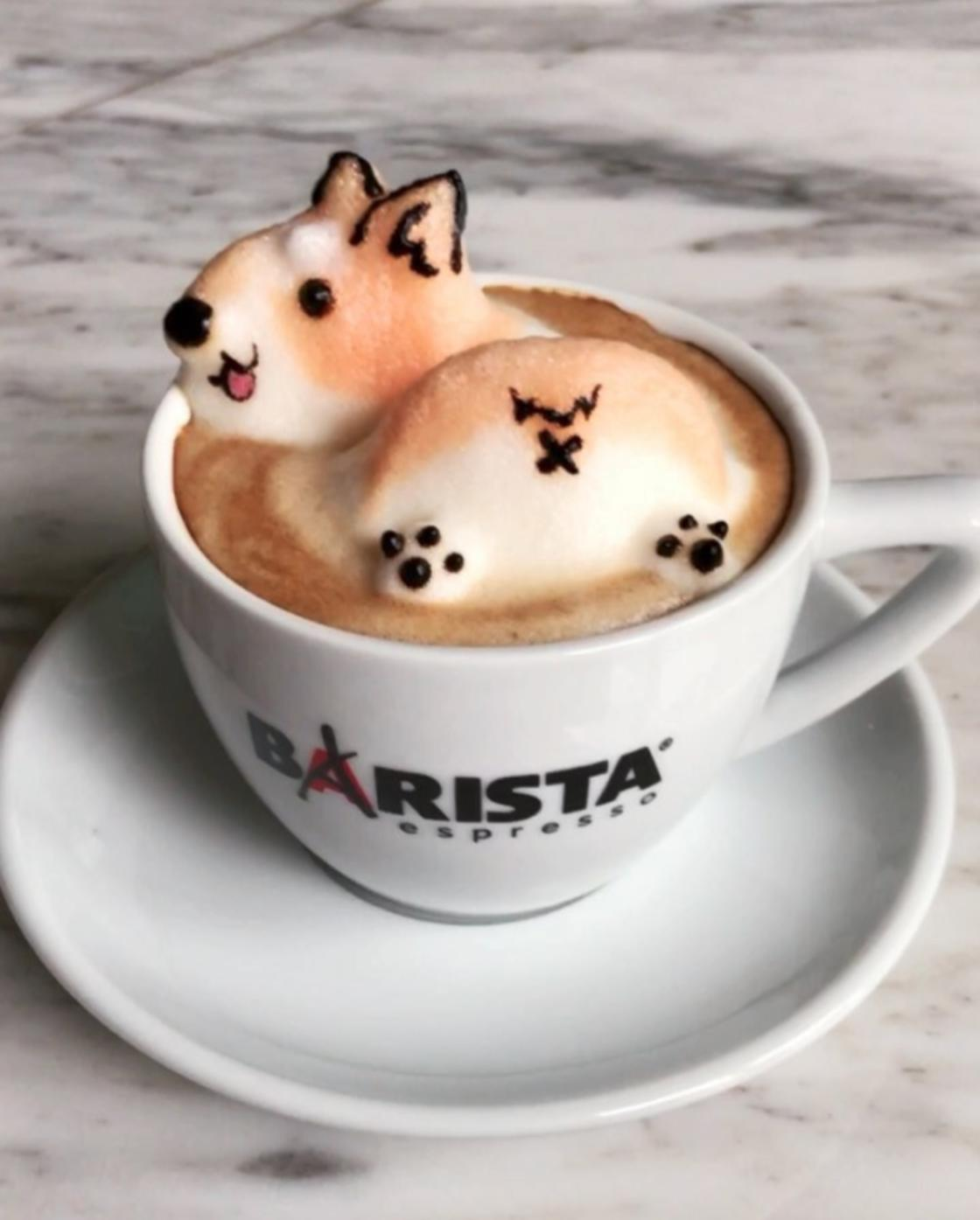 3D Latte Art – The adorable creations of a young artist