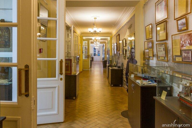 Дом культуры имени Чкалова, музейная экспозиция