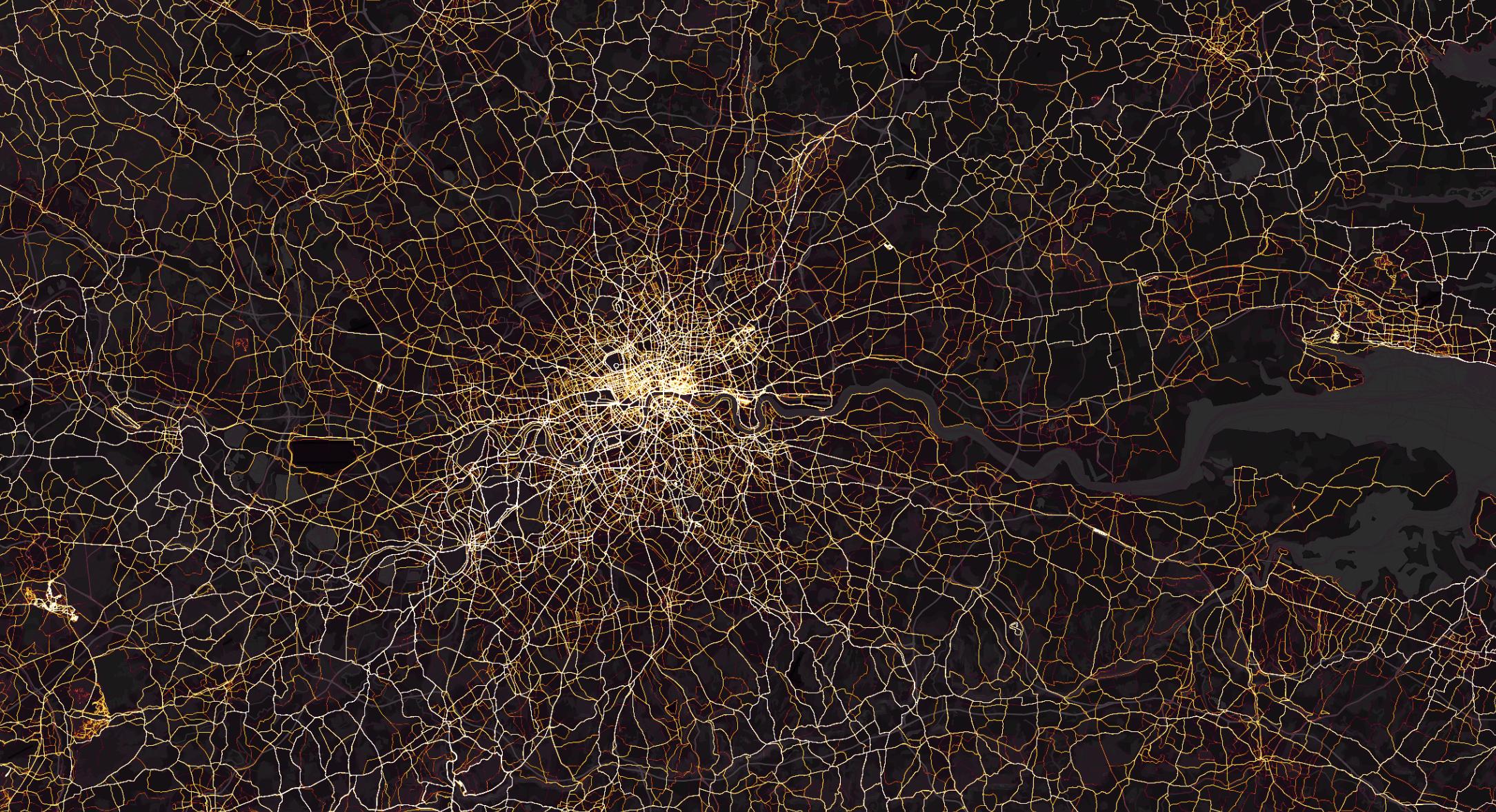 Beautiful Activity Maps by Strava
