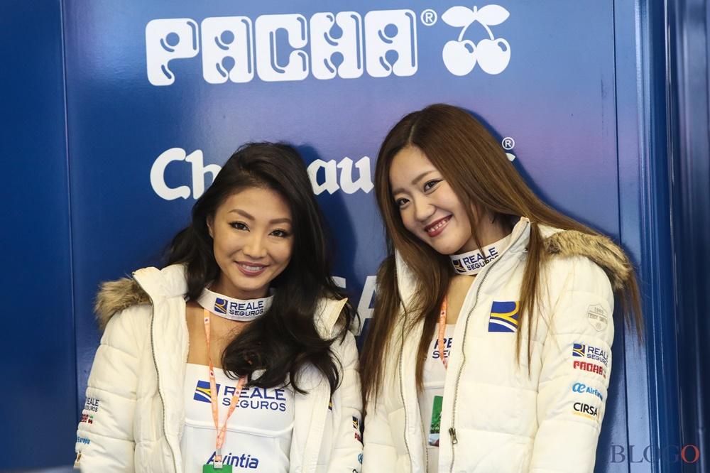 Девушки паддока Гран При Мотеги 2017