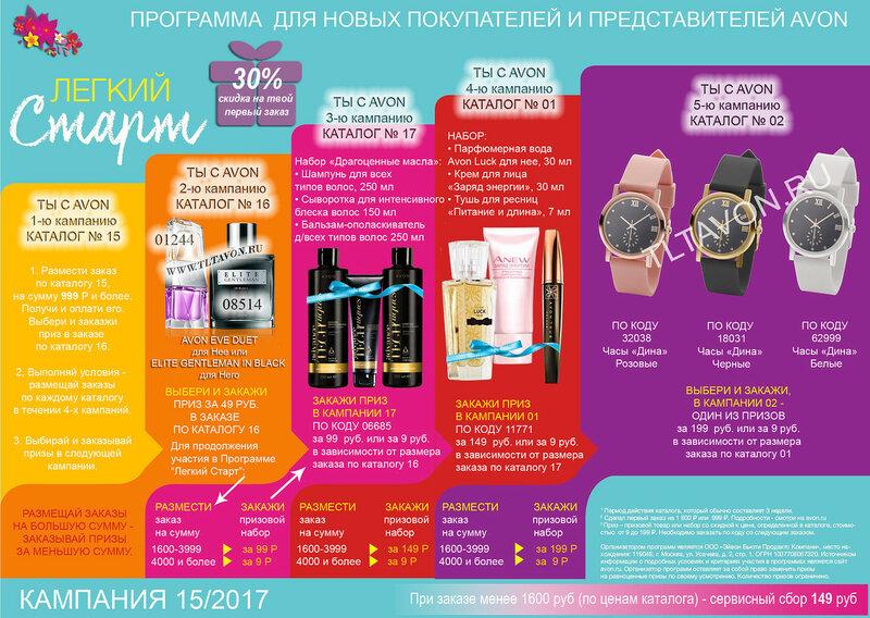 приз новым представителям 15 кампания_2017