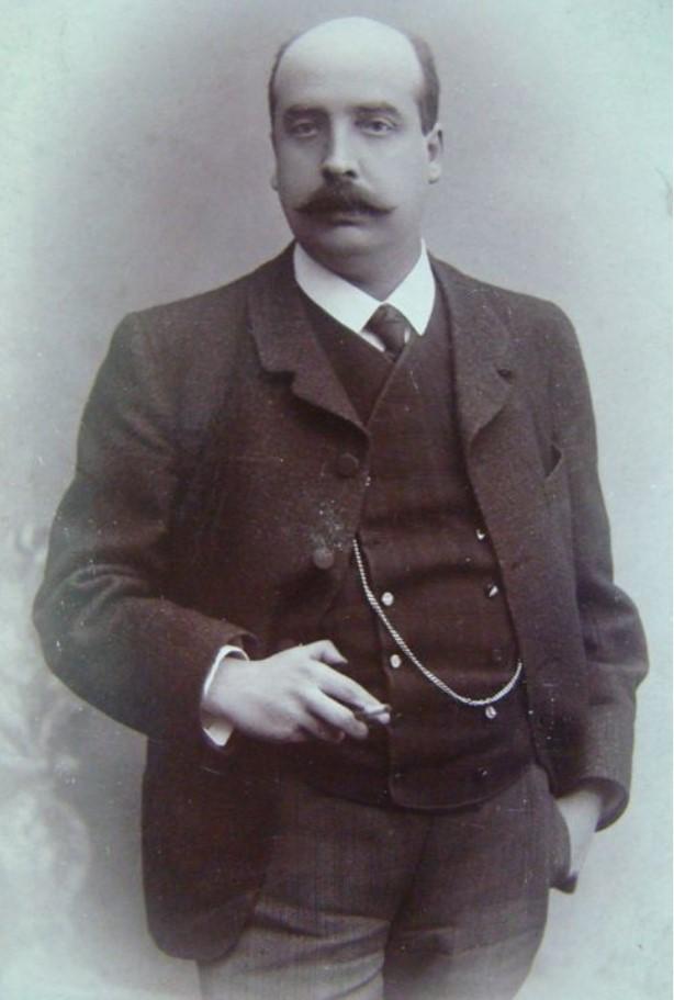 1910. Портрет Георгия Килевейна