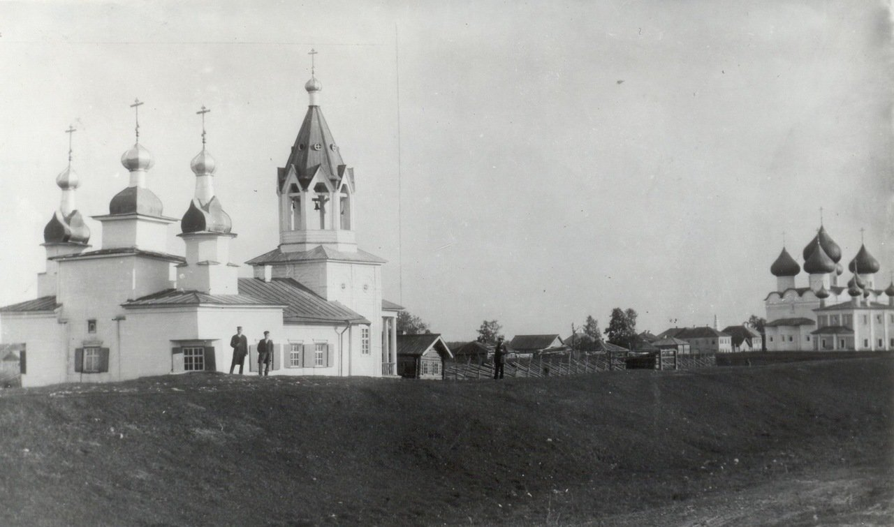 Деревянная церковь Спаса на Валу