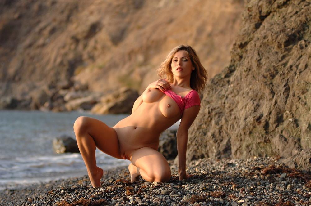 Malvina на пляже