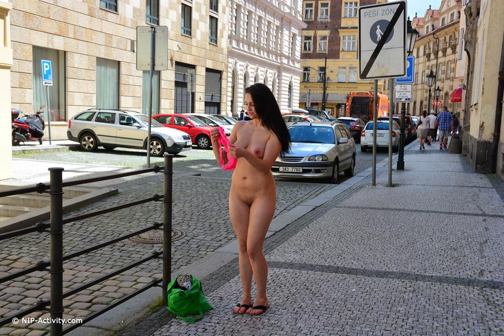 Обнаженная Kirshley в Праге