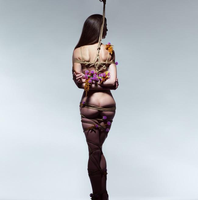Искусство шибари на снимках Aaron McPolin