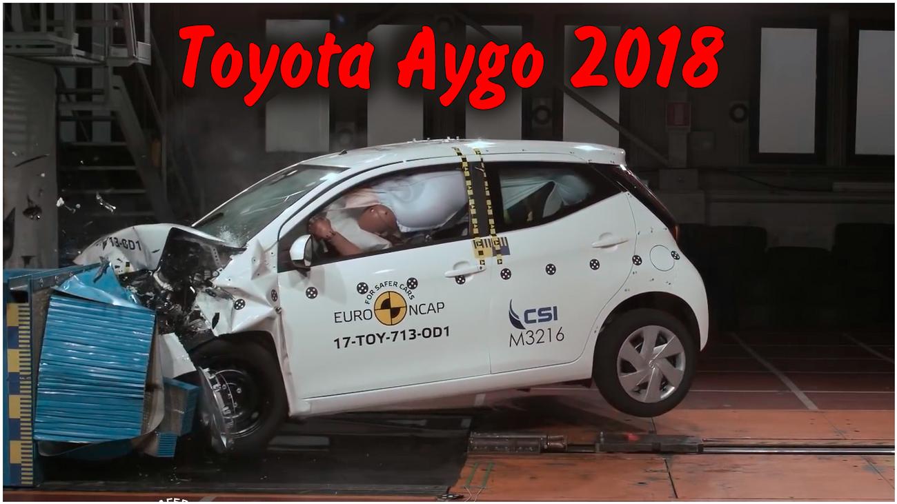 Краш тест Toyota Aygo 2018