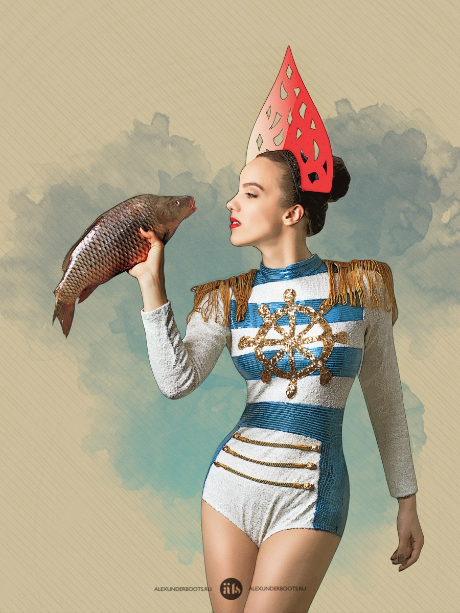 Russian style Pin-up calendar | Фотограф Александр Буц / AlexUnder Boots