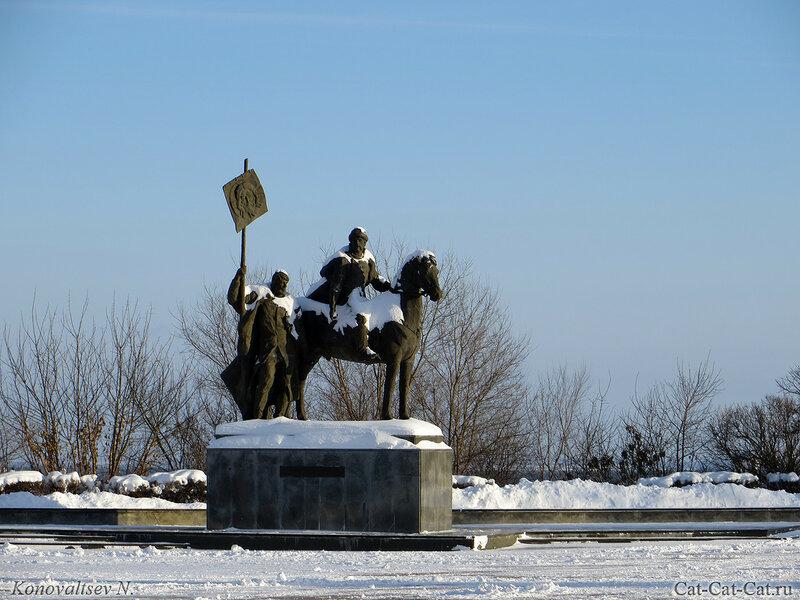 Памятник Богдану Хитрово, Ульяновск