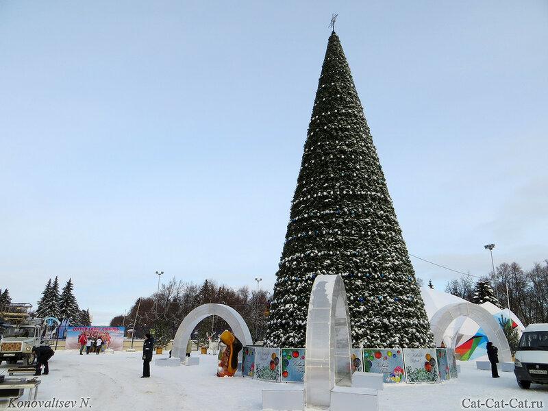 Ульяновск, центральная елка 2018