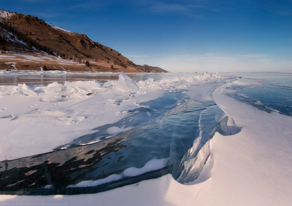 Рюкзак как-то болтается себе спокойно сзади по льду, совсем не напрягает и не тянет назад. День полу
