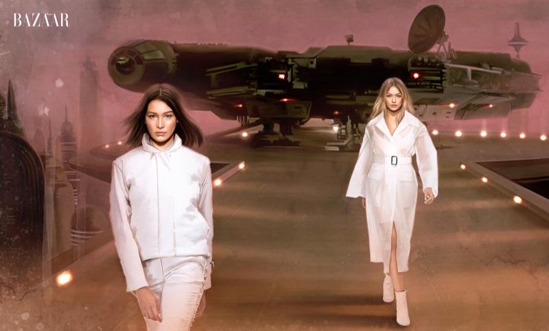 """""""Звездные Войны"""" в Harper's Bazaar US"""