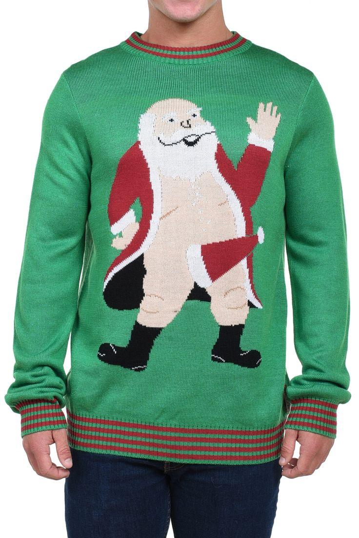 Развратный Санта и еще 29 уродливых рождественских свитеров (29 фото)
