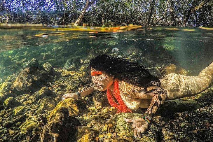 1. Индейцы Бразилии являются исконными обитателями этой страны, жившими на этой территории несколько