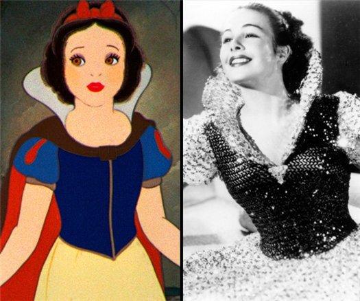 10 красавиц, послуживших прототипами прекрасных героинь Disney (10 фото)