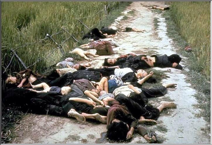 «Добрые» американцы: 500 убитых в Сонгми (1 фото)