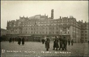 Театральная площадь. Гостиница Метрополь