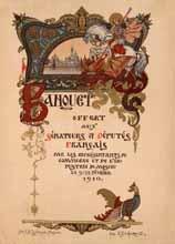 Banquet offert aux sénateurs et députés français par les représentants du commerce et de l'industrie de Moscou le 922 février 1910. Зворыкин