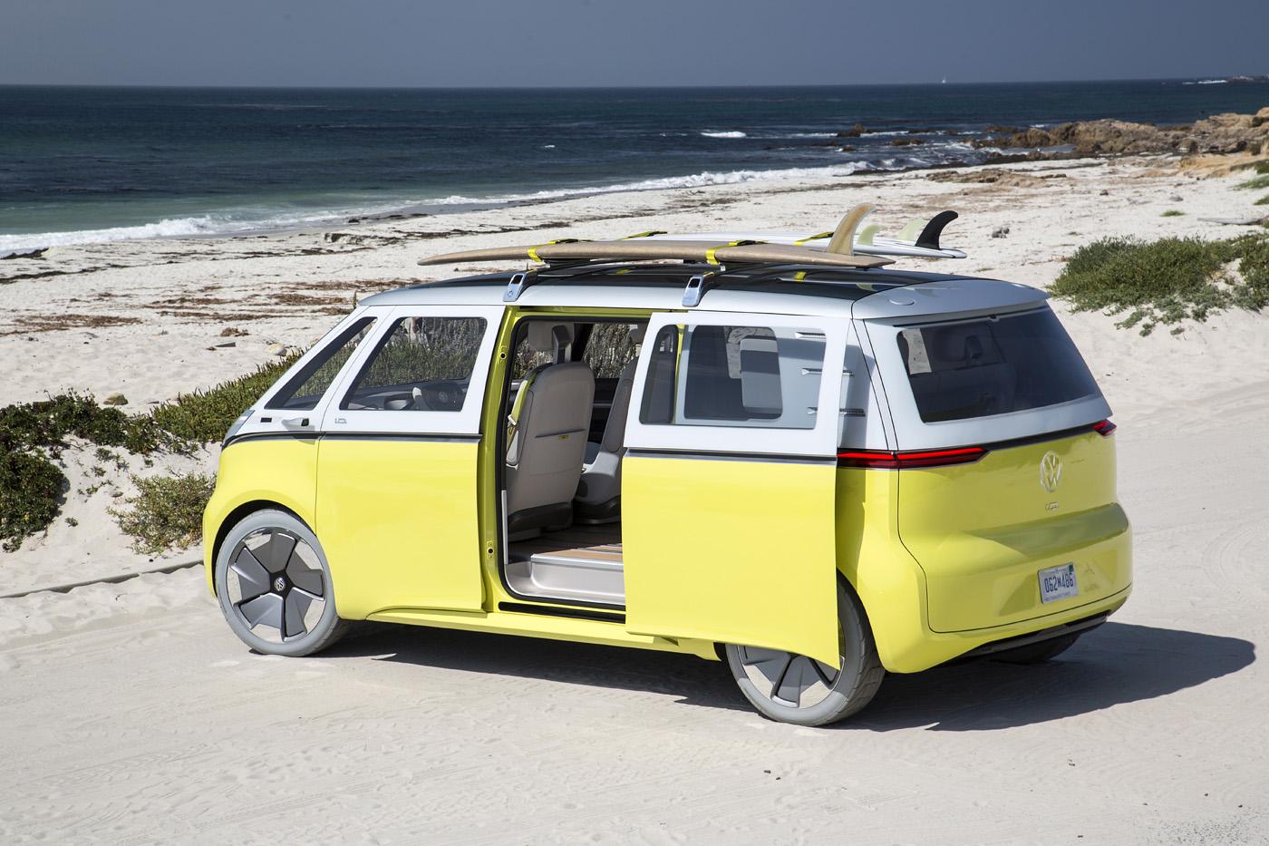 Volkswagen Famous Van in Electric Version